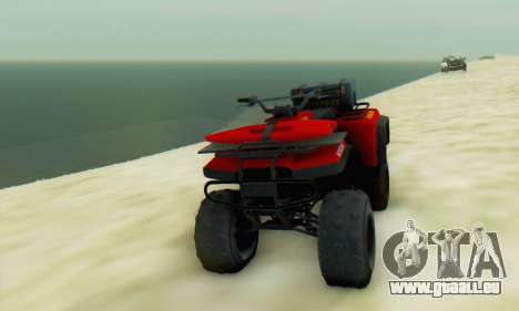 Nagasaki Blazer Lifeguard für GTA San Andreas