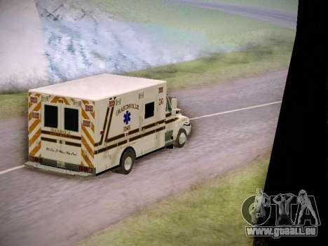 Pierce Commercial Grasonville Ambulance für GTA San Andreas Seitenansicht
