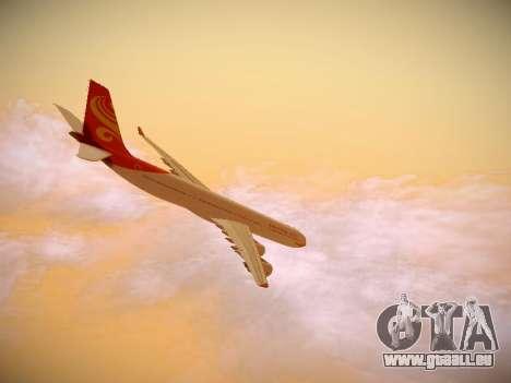 Airbus A340-600 Hainan Airlines für GTA San Andreas Seitenansicht
