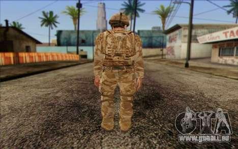 Britische Soldaten (ArmA II: BAF) v2 für GTA San Andreas zweiten Screenshot