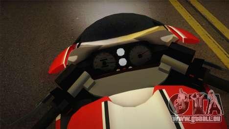 Bati RR 801 pour GTA San Andreas sur la vue arrière gauche