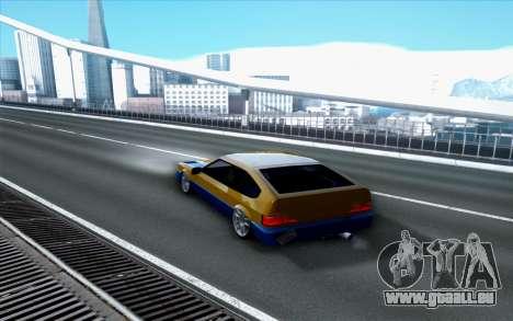 Blista By Next pour GTA San Andreas laissé vue