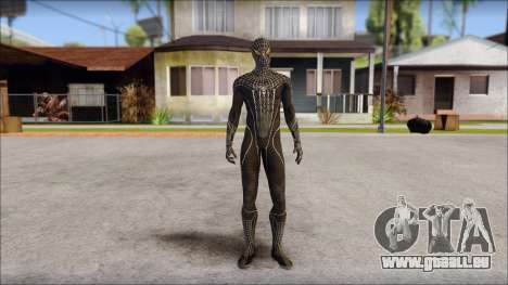 Standart Black Spider Man für GTA San Andreas