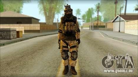 Les soldats de l'UNION européenne (AVA) v6 pour GTA San Andreas