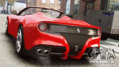 Ferrari F12 Roadster für GTA 4 linke Ansicht