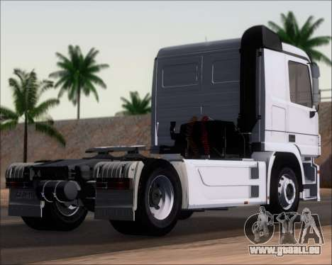 Mercedes-Benz Actros 3241 pour GTA San Andreas laissé vue