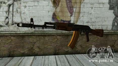 TheCrazyGamer AK74 pour GTA San Andreas