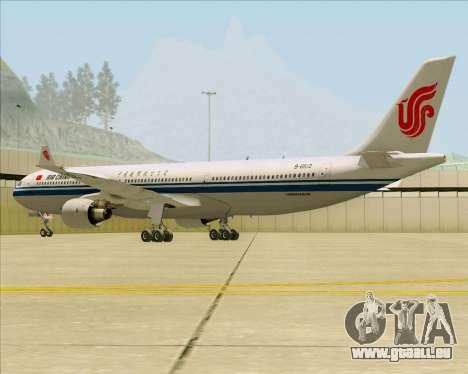 Airbus A330-300 Air China pour GTA San Andreas vue de droite