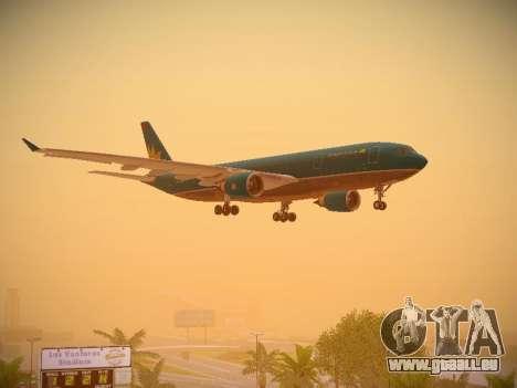 Airbus A330-200 Vietnam Airlines pour GTA San Andreas vue de dessous