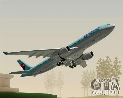 Airbus A330-300 Korean Air für GTA San Andreas Motor