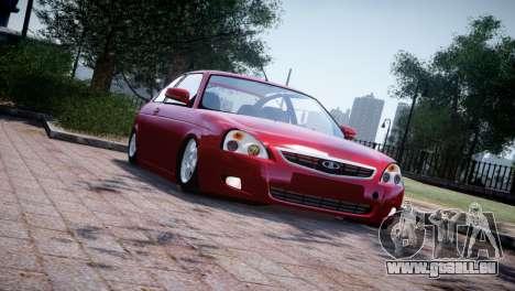 Lada Priora Coupe pour GTA 4 est une gauche