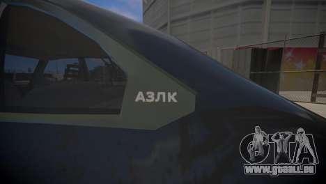 AZLK 2141 für GTA 4 rechte Ansicht