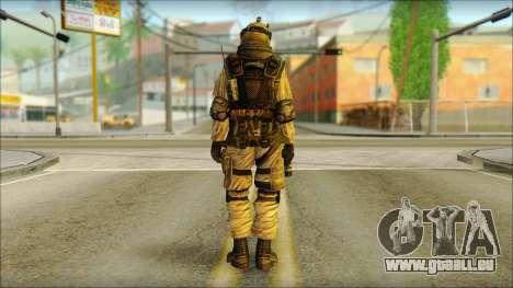 Les soldats de l'UNION européenne (AVA) v6 pour GTA San Andreas deuxième écran