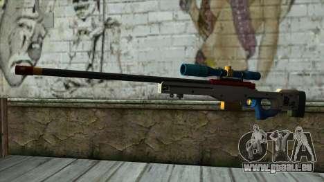 Sniper Rifle from PointBlank v4 für GTA San Andreas