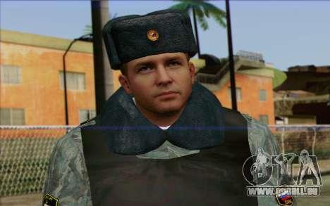 Die Polizei In Russlands Haut 5 für GTA San Andreas dritten Screenshot