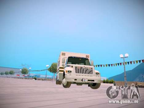 Pierce Commercial Grasonville Ambulance für GTA San Andreas