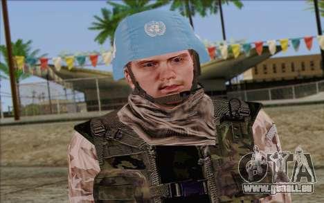 Tchèque Artisan De La Paix pour GTA San Andreas troisième écran