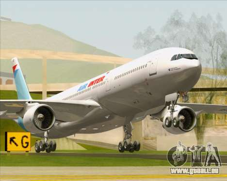 Airbus A330-300 Air Inter pour GTA San Andreas