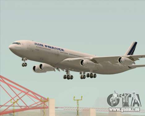 Airbus A340-313 Air France (Old Livery) pour GTA San Andreas moteur