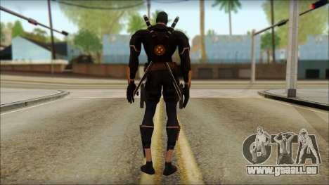 Xmen Alt Deadpool The Game Cable für GTA San Andreas zweiten Screenshot