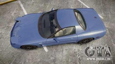 Chevrolet Corvette Z06 (C5) 2002 v2.0 pour GTA 4 est un droit