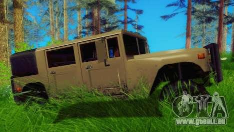New Patriot pour GTA San Andreas laissé vue