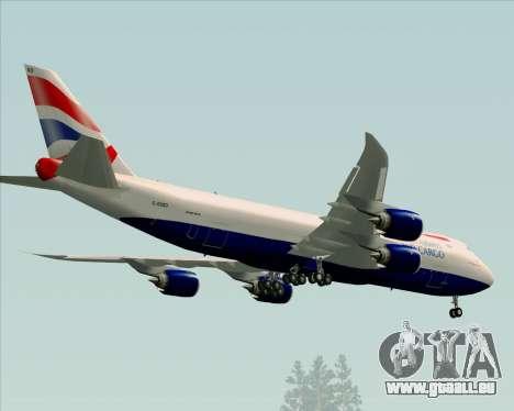 Boeing 747-8 Cargo British Airways World Cargo für GTA San Andreas Seitenansicht