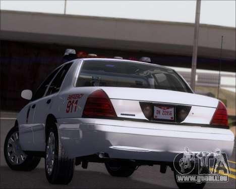 Ford Crown Victoria Tallmadge Battalion Chief 2 pour GTA San Andreas