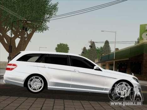 Mercedes-Benz E250 Estate pour GTA San Andreas sur la vue arrière gauche