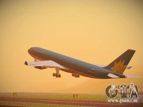 Airbus A330-200 Vietnam Airlines für GTA San Andreas Rückansicht