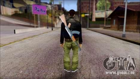 Shades and Gun Claude v1 für GTA San Andreas zweiten Screenshot