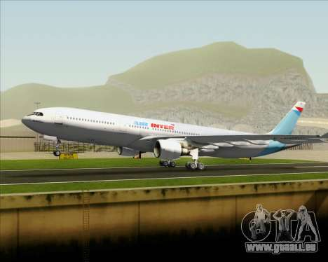 Airbus A330-300 Air Inter für GTA San Andreas Motor