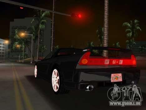 Honda NSX-R pour une vue GTA Vice City de l'intérieur