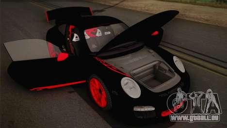 Porsche 911 GT3RSR für GTA San Andreas Innenansicht
