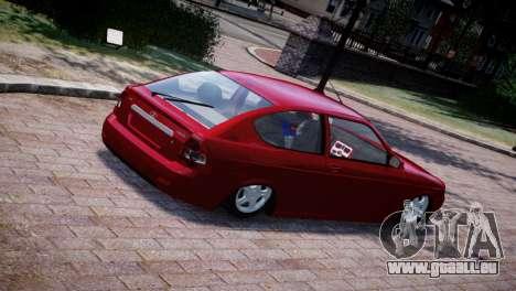 Lada Priora Coupe pour GTA 4 Vue arrière