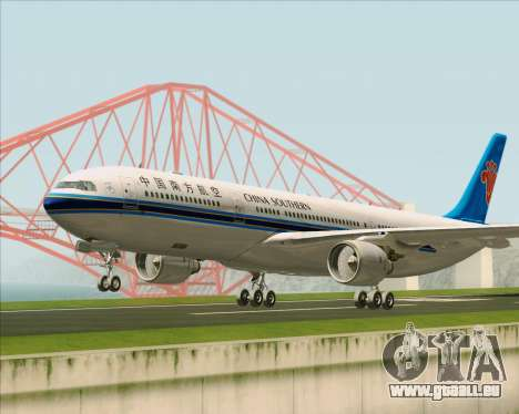 Airbus A330-300 China Southern Airlines für GTA San Andreas linke Ansicht
