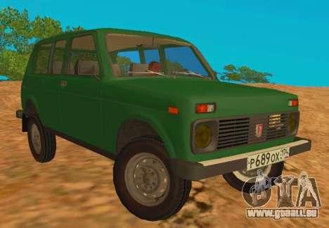 VAZ-2129 Niva 4x4 pour GTA San Andreas
