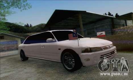 Proton Wira Official Malaysian Limousine pour GTA San Andreas