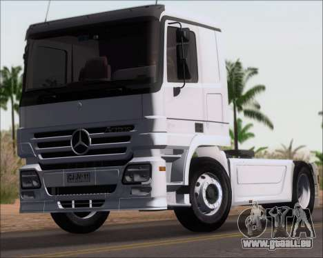 Mercedes-Benz Actros 3241 pour GTA San Andreas vue de droite