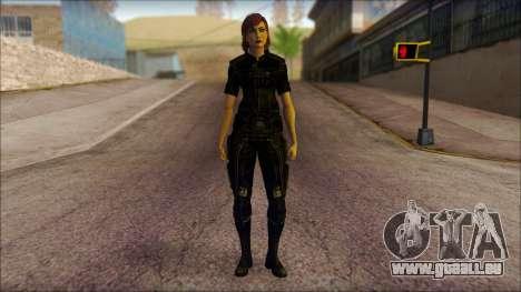 Mass Effect Anna Skin v4 pour GTA San Andreas
