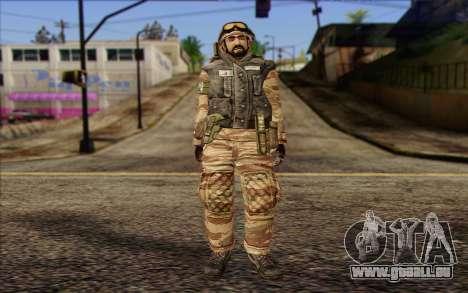 Les soldats de la MEK (Battlefield 2) de la Peau pour GTA San Andreas