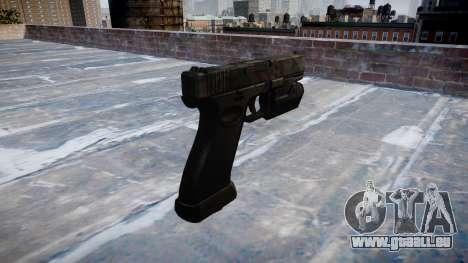 Pistolet Glock 20 kryptek typhon pour GTA 4 secondes d'écran