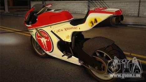 Bati RR 801 pour GTA San Andreas laissé vue