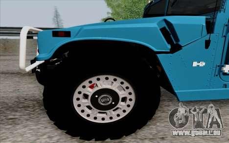 Hummer H1 Alpha 2006 Road version für GTA San Andreas linke Ansicht