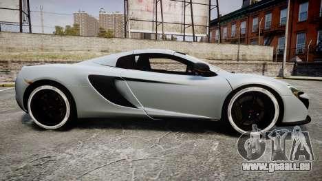 McLaren 650S Spider 2014 [EPM] KUMHO für GTA 4 linke Ansicht