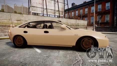Mazda 323f 1998 pour GTA 4 est une gauche