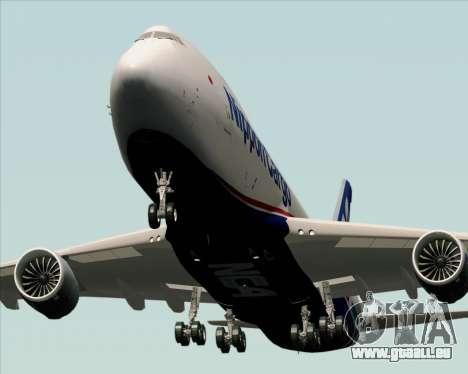 Boeing 747-8 Cargo Nippon Cargo Airlines pour GTA San Andreas vue de côté