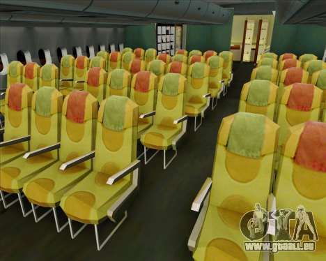Airbus A380-841 Singapore Airlines für GTA San Andreas Motor