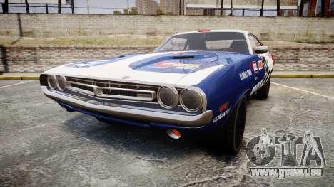 Dodge Challenger 1971 v2.2 PJ10 pour GTA 4
