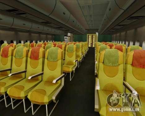 Airbus A380-861 Qatar Airways pour GTA San Andreas moteur